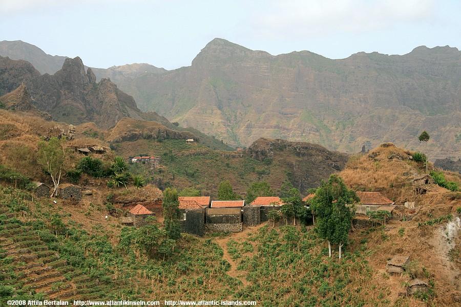 Cabo Verde Islands Map